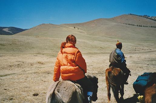 Sandra Kincaid - Mongolei